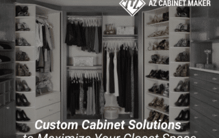 Tips about maximize your closet space with a custom cabinet design
